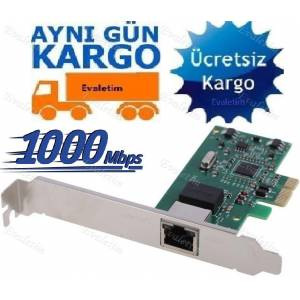 PCI-E EXPRESS ETHERNET KARTI 4540p LAN İNTERNET RJ45 CAT5 6 NETWORK ANAKART CAT5 CAT6 BİLGİSAYAR
