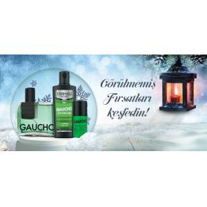 FARMASİ GAUCHO ERKEK PARFÜM 100 ML ROLLON VE AFTER SHAVE 3 LÜ SET İNANILMAZ FİYAT