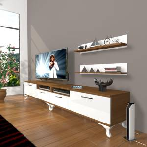 DECORAKTİV EKO 220R MDF RUSTİK TV ÜNİTESİ TV SEHPASI TV UNİTESİ 18682109200834