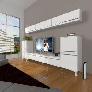 DECORAKTİV EKO 9 MDF STD RUSTİK TV ÜNİTESİ TV SEHPASI 8682109202084