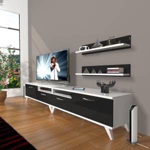 DECORAKTİV EKO 220R MDF RETRO TV ÜNİTESİ 2 RAF 8682109200516
