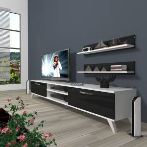 DECORAKTİV EKO 4 MDF DVD RETRO TV ÜNİTESİ 2 RAF 8682109200622