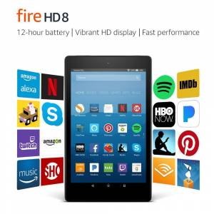 Amazon Kindle Fire HD 8 - Alexa Destekli 8