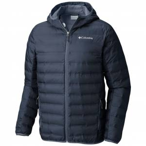 COLUMBIA LAKE 22 DOWN HOODED ERKEK MONT WO0840-464