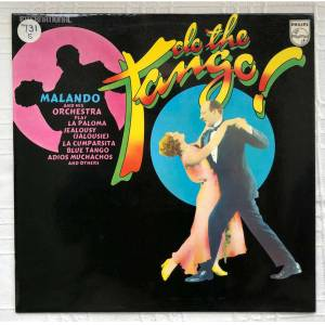 TANGO DO THE TANGO MALANDO 33 DEVİR LP 1973 PHILIPS UK