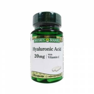 Natures Bounty Hyaluronic Acid 20mg 30 Kapsül
