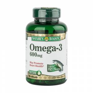 Natures Bounty Omega-3 600mg 90 Softjel
