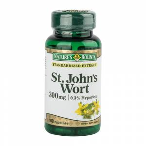 Natures Bounty St. Johns Wort 300mg 100 Kapsül