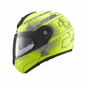 Schuberth C3 Pro Europe Yellow Çene Açılır Kask