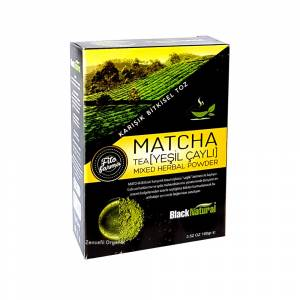 Black Natural Matcha Tea Maça Japon Çayı Tea Japon 100 gr
