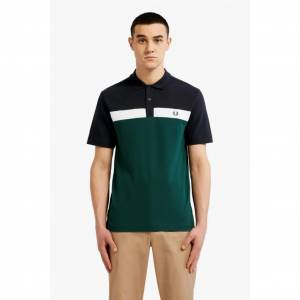 Fred Perry Contrast Panel Polo TişörtM5577