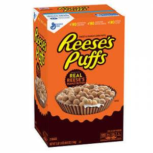 Reeses Puffs Real peanut butter Cereal 2 bags 1400g Made in USA Kargo 6 lira