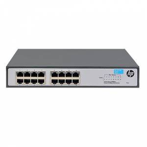 HPE JH016A ProCurve 1420-16G 16 Port 10/100/1000 Rack Mountable Yönetilemez Gigabit Switch