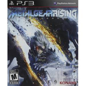 METAL GEAR RISING PS3 OYUNU ORIJINAL - KUTULU PLAYSTATION 3 OYUNU