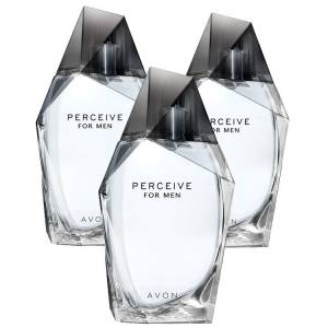 Avon Perceive Erkek Parfüm Edt 100 Ml. 3lü Set