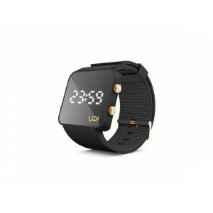 UPWATCH LED MINI GOLD BLACK Unisex KOL SAATİ