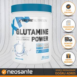 XTREME Glutamine Power 300 gr L-Glutamin + HEDİYE