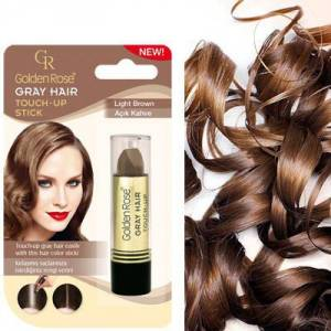 GOLDEN ROSE GRAY HAIR TOUCH-UP STICK AÇIK KAHVE -kapatici stıck