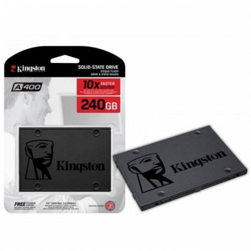 240GB Kingston A400 SSDNow 500MB-350MBs Sata3 SSD SA400S37240 423254053