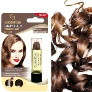 GOLDEN ROSE GRAY HAIR TOUCH-UP STICK kahve -kapatici stıck