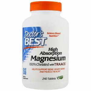 MAGNESIUM - HIGH ABSORPTION - DOCTORS BEST MAGNEZYUM 240 TABLET