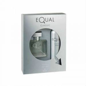 EQUAL CLASSIC MAN 75ML EDT150ML DEO