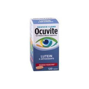 Ocuvite Bausch  Lomb Ocuvite Eye Vitamin Mineral Supplement 120 Tablet