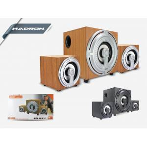 HADRON HD71238 SPEAKER 2.1 SES SİSTEMİ Bluetooth USB