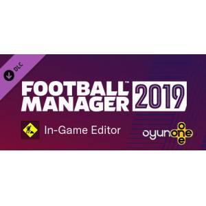 Football Manager 2019 In-Game Editor Steam - Anında Teslim