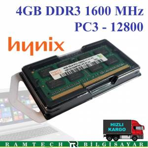 4GB DDR3 1600 MHz 12800S NOTEBOOK RAM