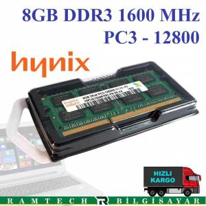 8GB DDR3 1600 MHz 12800S NOTEBOOK RAM
