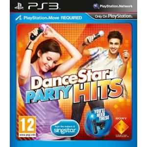 DANCE STAR PARTY HITS MOVE GEREKLİ PS3 OYUNU ORIJINAL - KUTULU PLAYSTATION 3 OYUNU