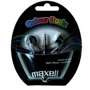 COLOUR BUDS MAXELL MP3 KULAKLIK
