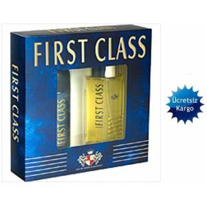 FIRST CLASS KLASİK 100ML EDT  150ML DEO SET