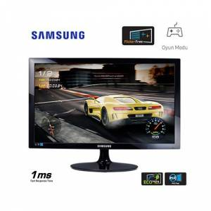 SAMSUNG LS24D332HSXUF 24 75Hz 1ms HDMIAnalog FULL HD TN GAMİNG MONİTÖR