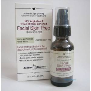 JANSON BECKETT FACIAL SKIN PREP - 29.6 ML - 1oz (SKT 2022)