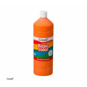 Creall Basic Color Posterpaint Tempera Boya 1000 ml. 04 Orange Turuncu