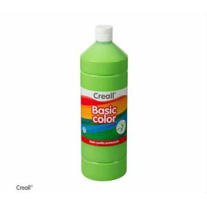 Creall Basic Color Posterpaint Tempera Boya 1000 ml. 14 L. Green Açık Yeşil