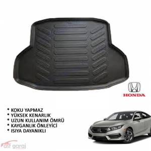 Honda Civic FC5 Sedan 3D Bagaj Havuzu 2016-2018