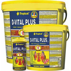 Tropical D-Vital Plus Discus Flake Pul Yem 250 Gr