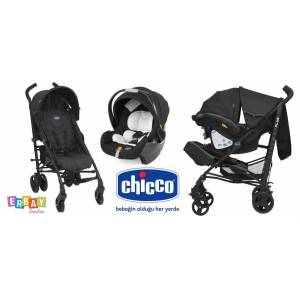 CHİCCO LİTEWAY PLUS TRAVEL SET SİYAH