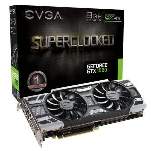 EVGA GeForce GTX 1080 SC GAMING ACX 3.0 EKRAN KARTI