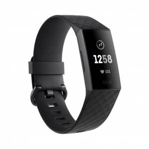 Fitbit Charge 3 Graphite Siyah