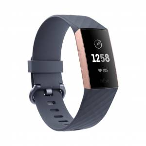 Fitbit Charge 3 Graphite Rose Gold
