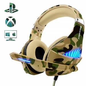 Beexcellent Gaming Headset for PS4 Xbox One PC2019 Upgraded Fashionable Deep Bass Headphone