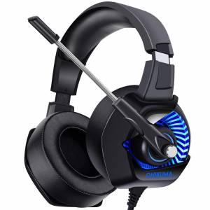 ONIKUMA II Gaming Headset for PS4 Xbox One PC Nintendo Switch Noise Cancelling Over-Ear Hallowee