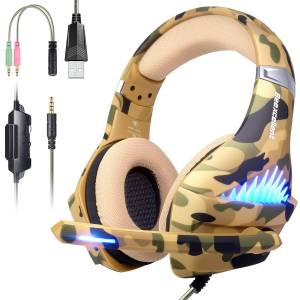PS4 Gaming Headset for Xbox One PC Mac Nintendo switch Games Noise Reduction Gaming Headphones