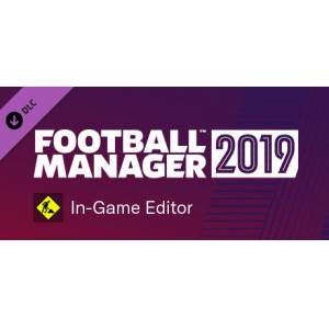 FM 19 - Football Manager 2019 In-Game Editor