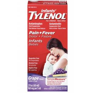 TYLENOL INFANT GRAPE FLAVOUR SKT 102019