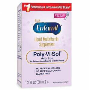 Enfamil Poly-Vi-Sol with Iron Liquid Multivitamin Supplement 50ml